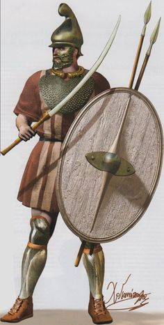 2nd c. BCE Thracian mercenary by C.Giannopoulos