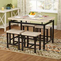 Found it at Wayfair - TMS Delano 5 Piece Dining Sethttp://www.wayfair.com/TMS-Delano-5-Piece-Dining-Set-71915NAT-TXR2108.html?refid=SBP.rBAZEVRX1bAQOz4-aiQgAjwwkGkNdkMXnt8CSh4_wuw