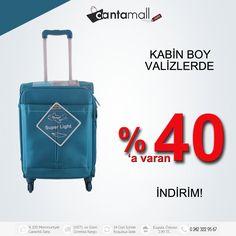 Yüzlerce çeşit kabin boy valiz modeli indirimli fiyatlarıyla sizleri beklemekte.