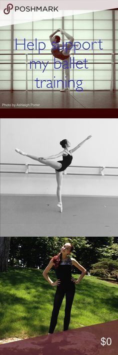 Thank you for your purchases❣️ All of your purchases go towards helping me follow my dream of becoming a professional ballerina! I am 16 and looking to move to a ballet residency program next fall which will be very expensive, so every dollar helps! This summer I will be dedicating 7 weeks to living away from home to train for 5 hours a day, 6 days a week. This will be my third summer away from home. Ballet is so financially straining, so I really appreciate your generous offers!❤️ Other