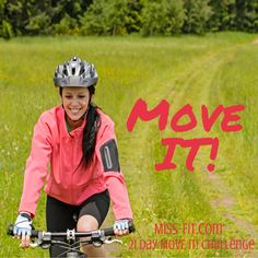 Get up and move it! In just 21 days we'll help you make exercise a habit to create a healthier you! Let's do this!
