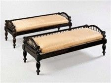 Anglo-Indian Style Benches