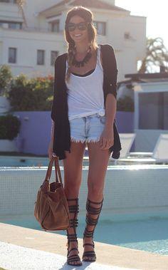 Zara Gladiator Sandals – Honey Love