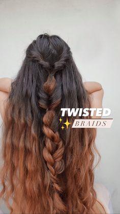 Front Hair Styles, Medium Hair Styles, Curly Hair Styles, Braided Hairstyles Tutorials, Easy Hairstyles, Hairstyles For Frizzy Hair, Prom Hairstyles, Summer Hairstyles For Medium Hair, Hair Upstyles