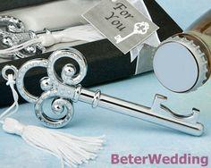 """Clef à mon souvenir de Decoration_Wedding Gift_Wedding de mariage d'ouvreur bouteille de coeur """" (50pcs/lot) WJ081-00_ victorien «"""