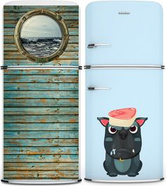 Personalised fridge by Kudu Magnets----The one on the left! :D