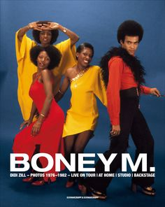 Boney M is a truly unforgettable name in the history of music. This glamorous and extremely likeable group came together in 1976 and ever since then occupied a special place in the hearts of music lovers the world over. Frank Farian, Liz Mitchell, Maizie Williams, Marcia Barrett and Bobby Farrell formed Boney M.