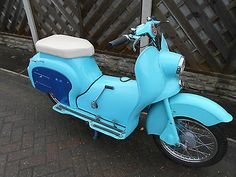 SUN GENI SCOOTER 98cc 1957 HAS V5 VERY CLEAN TIDY SCOOTER