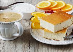 Творожная запеканка: рецепт с апельсинами