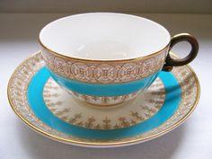 Very Rare 1888 Royal Worcester Teacup (PatternW2454). $245.00, via Etsy.
