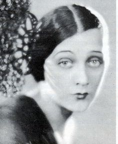 """Barbara La Marr in the 20s  """"the girl who was too beautiful""""     Barbara La Marr really embraced the hedonism of the 1920s. She burned bright and briefly, had a wild time and died young. She had an illegitimate child, five marriages, two hours sleep a night, was a herion addict... all in just 29 years. She was one of Louis B. Mayer's favourite actresses and he named Hedy Lamarr after her.     You can read about her HERE. Does anyone know of a biography of her?"""