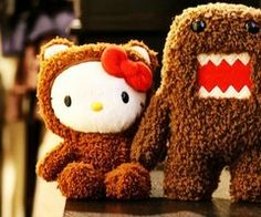 Hello Kitty & Domo - True Love...