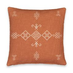 Funda de cojín, angusto La Redoute Interieurs | La Redoute Red Couch Living Room, Human Ecology, Style Ethnique, Bedroom Green, Cushion Pads, Spanish House, Home Art, Cushions, Throw Pillows