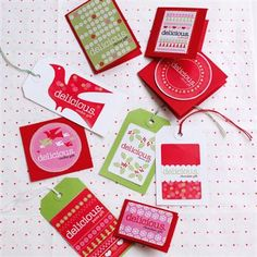 Free Christmas Gift Labels Food