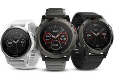 Garmin Fenix 5 series of fitness watches #fitness #fitnesstracker #exercise #sportstechnology #garmin
