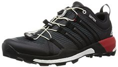 Adidas Terrex Skychaser Trail Walking Shoes - AW16 - 11 - Black >>> Click image for more details.