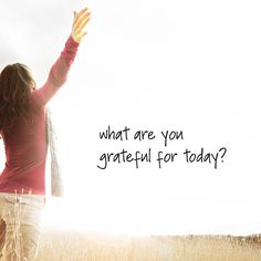Gratitude can change your life! Your happiness depends on your thoughts.  At the end of each day, write down in a notebook  3 things you have to be grateful for and see the difference! #Grateful #InspirationMonday #His