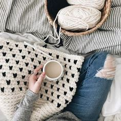 Dropping into your Friday with baskets on my hook ➰ and a beautiful spring day to look forward to. If you want to make a basket of your own-I have a handful of different versions in the shop! xx Wishing you all the very best Friday! Cozy Aesthetic, Autumn Cozy, Christmas Aesthetic, Christmas Wallpaper, Spring Day, Merino Wool Blanket, Knit Crochet, Crochet Things, Fiber Art