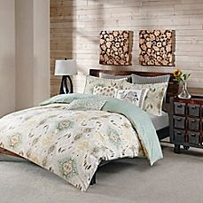 INK+IVY Nia Reversible Duvet Cover Set