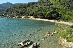 Beach of New Epidaurus village Argolis Peloponnese