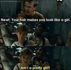 Just another reason why I love Newt :) haha another reason why hes so cute ;) haha I rhymed