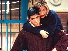 """My favorite episode of FRIENDS....The one where Ross finds out. """"You're over me...when...when were you...under me?"""" CLASSIC!!"""
