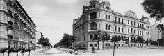 Palacio de la Marquesa de Casa López, 1907 en la Calle Velázquez (DESAPARECIDO). Foto Lacoste.