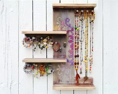 Give your jewelry pride of place with an artful organizer.