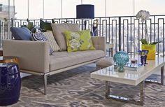 Portal diário Decor, ver mais em diariodecor.com.br #decoracao #decor #apartamanto #diariodecor #varanda #mariliaveiga