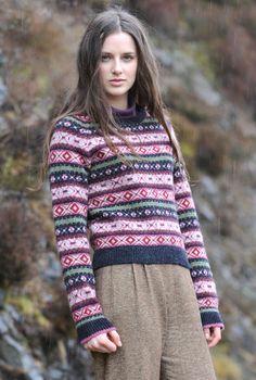 Brora ~ Love Shetland Fair Isle Jumper