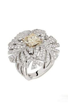 Chanel Panache Yellow Diamond Ring
