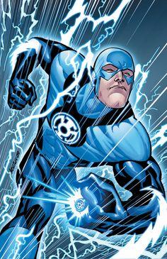 Flash Blue Lantern Corps by Scott Kollins
