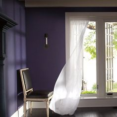 Benjamin Moore reveals its 2017 Color of the Year-SHADOW!! Check out this article in Architectural Digest as Benjamin Moore's creative director Ellen O'Neill discusses how she and her team decided on this rich smoky and deep purple color. http://ift.tt/2ekHArp