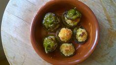 Peperoni tondi ripieni di cous cous/  Stuffed cous cous peppers