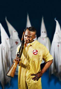 Ghostbuster VS. Ku Klux Klan