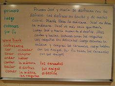 NOW IS A GREAT TIME OF YEAR TO TELL STORIES TOGETHER IN SPANISH. We are far into the school year, and your students have probably learned a lot of Spanish by now, so telling stories together is an excellent opportunity for them to use all they have learned creatively.  Read my blog for simple instructions: http://www.spanish-for-you.net/blog/tell-stories-together-in-spanish