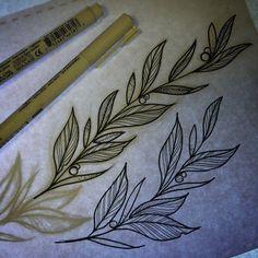 M Tattoos, Vine Tattoos, Flower Tattoos, Body Art Tattoos, Cool Tattoos, Tattoo Sketches, Tattoo Drawings, Dibujos Tattoo, Nature Tattoos