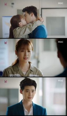 Han Hyo-joo confessed that she loved Lee Jong-suk. On the episode of the MBC drama 'W', Oh Yeon-joo (Han Hyo-joo) confessed her feelings to Kang Cheol (Lee Jong-suk) who resented her. W Korean Drama, Korean Drama Songs, Korean Drama Quotes, Han Hyo Joo Lee Jong Suk, Jung Suk, W Kdrama, Ver Drama, Kang Chul, Moorim School