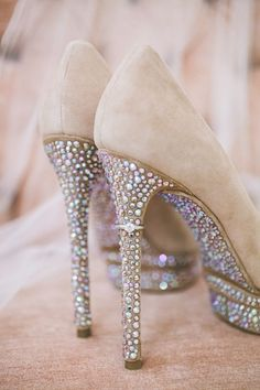 Love the ring on the heel of these sparkly shoes Shoes |2013 Fashion High Heels|
