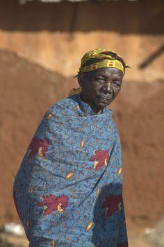 Woman in Ilambilole, Tanzania.  ©2009 Randy Haglund
