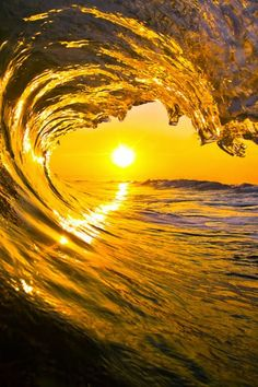 Waves With Sunset Yellow Aesthetic Pastel, Aesthetic Colors, Aesthetic Pictures, Sun Aesthetic, Aesthetic Collage, No Wave, Photo Wall Collage, Picture Wall, Yellow Walls