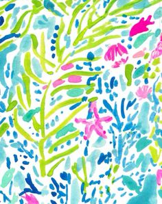 Another classic Lilly print—such a nice pop of color!