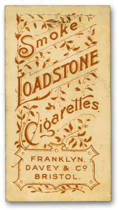antique cigarette cards