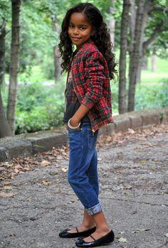 Mini Outfit - Séta az őszi parkban