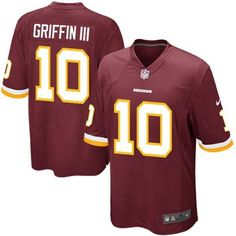 Youth Nike Washington Redskins Robert Griffin III Game Team Color Jersey