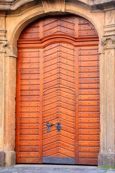 Prague, doors Prague, Czech Republic