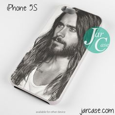 Jared Leto With Beard Phone case for iPhone 4/4s/5/5c/5s/6/6 plus