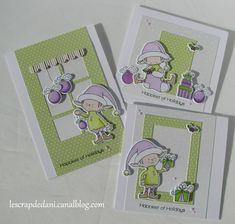 Dani set cartes Elf MFT