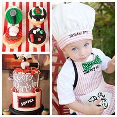 Italian bistro chef themed birthday party via Kara's Party Planning Ideas!