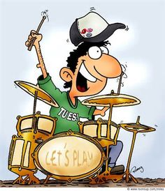 cartoon drummers - yahoo Image Search Results